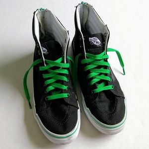 Vans Off The Wall Black High Top Sneakers